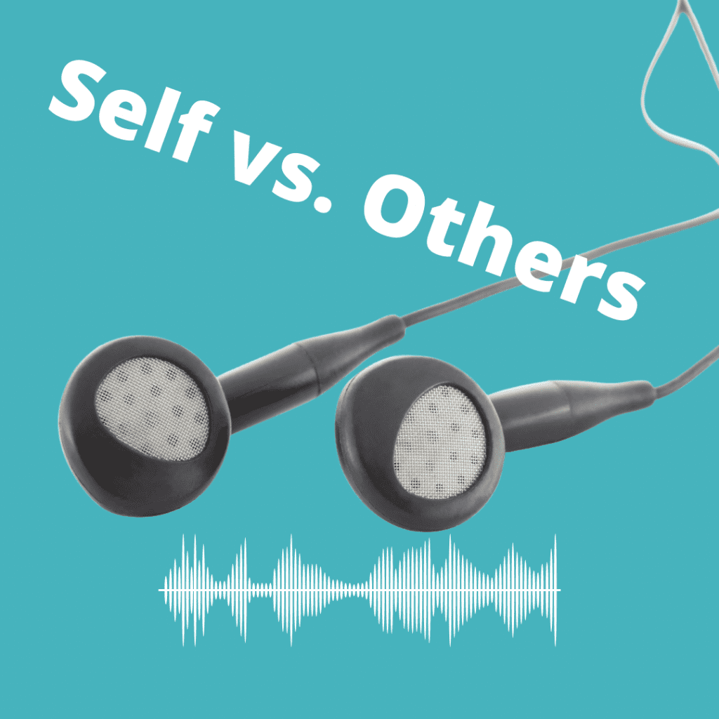 hear God for self vs. others